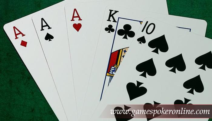 Pengertian Three Of A Kind Pada Permainan Poker